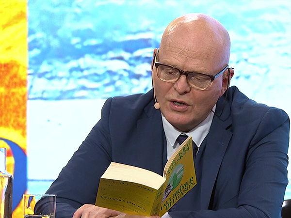 Hallgrímur Helgason liest »60 Kilo Sonnenschein« (Tropen)  © Literaturhaus München/Livestream