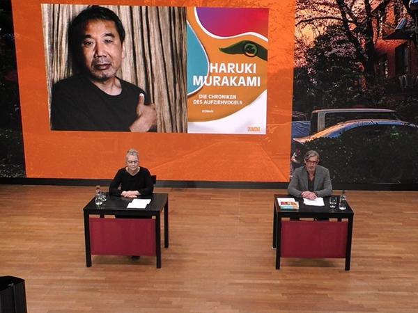 © Livestream/Literaturhaus München