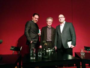 Thomas Loibl, Clemens Pornschlegel & Erdal Topkarayan (© Britta Schönhütl / cult: Kulturzeitung der Bayerischen Theaterakademie)